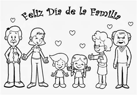 imagenes de la familia para imprimir familia para colorear