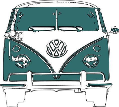 volkswagen van cartoon image gallery hippie vw bus cartoon