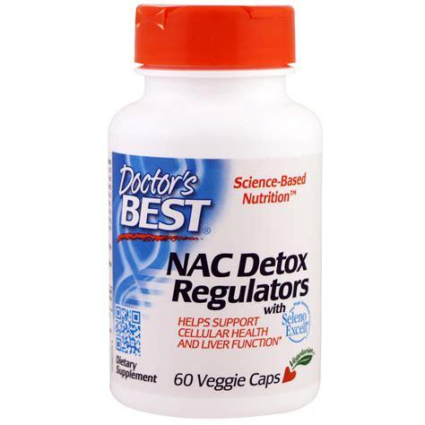 Doctors Hospital Detox by Doctor S Best Nac Detox Regulators 60 Veggie Caps