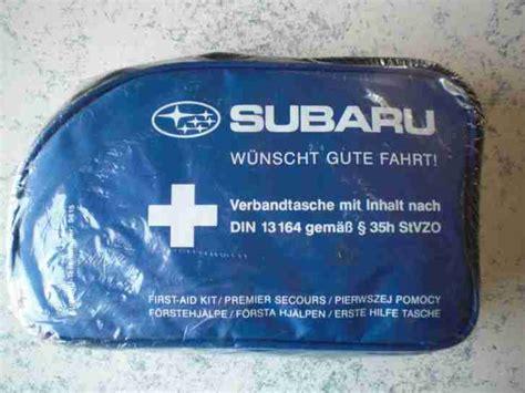 Verbandskasten Auto Im Angebot by Kfz Verbandstasche Verbandskasten Subaru Tolle Angebote