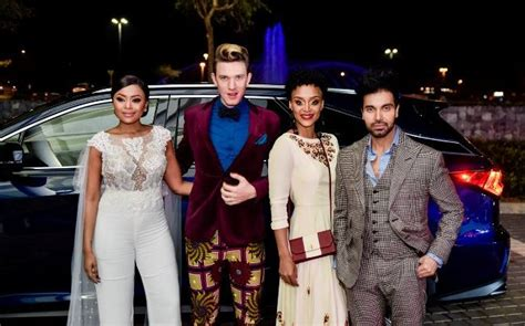 pics  local celebrities wore  project runway sa