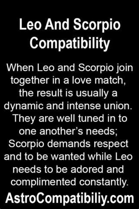 image gallery leo and scorpio together