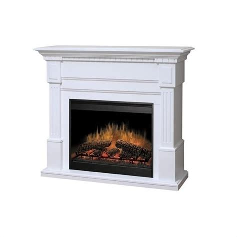 White Electric Fireplace Dimplex Essex Electric Fireplace In White Gds30 1086w