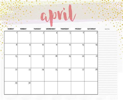 april 2018 calendar free printables for you printables and