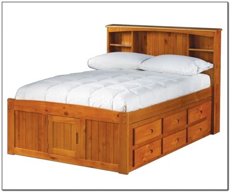 captain full size bed full size captains bed with trundle beds home design