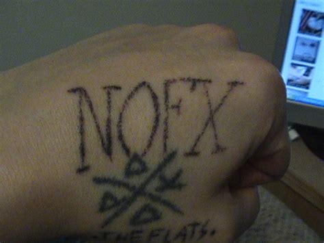 nofx tattoo by elsupersinister on deviantart