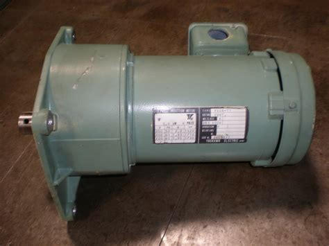 3 phase induction motor yaskawa bridgeport flange yaskawa 3 phase electric motor used second surplus equipmatching