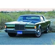 1969 71 Lincoln Continental Mk III  Personal Luxury