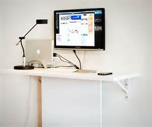small wall desks 15 diy computer desks tutorials for your home office 2017