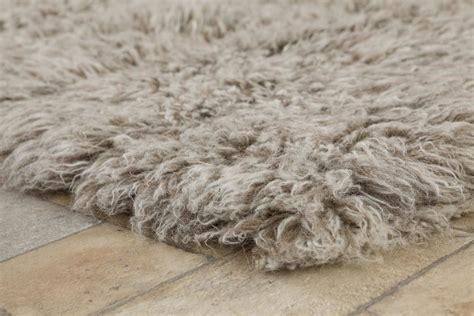 gray flokati rug buy grey white brown flokati 2800g m2 70x140cm the real rug company