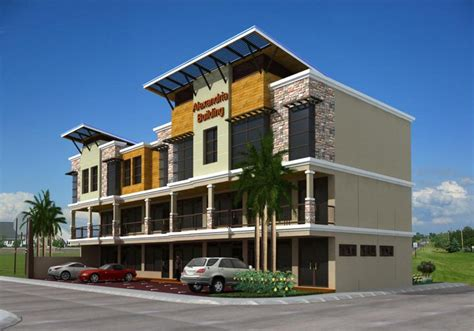 Modern House Design With Floor Plan In The Philippines by Storey Commercial Building Design Joy Studio Best