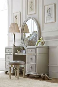 Bedroom Vanity Sets With Lighted Mirror Vanity Bathroom Silver Metal Make Up Table And Mirror Also