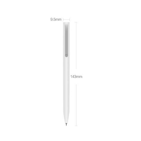 Xiaomi Pen Mijia 0 5mm Sign genuine xiaomi mijia 0 5mm writing point sign pen 9 5mm