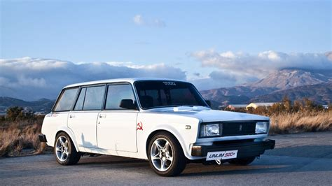 lada da studio from greece with lada 2104