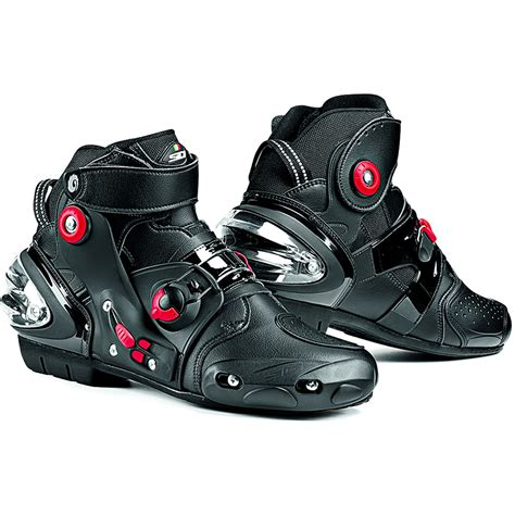 bike racing boots sidi streetburner motorcycle boots short ankle street