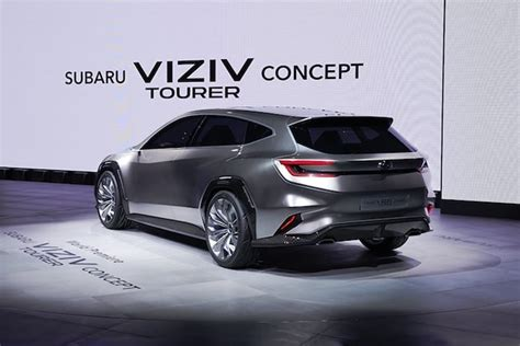 Subaru Wrx Sti 2020 Concept by Viziv Tourer Concept Breaks Cover Previews 2020 Subaru