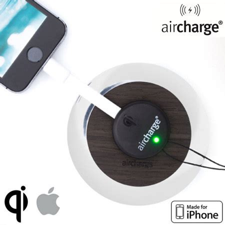 Qi Wireless Charging Lightning Receiver Iphone 55sse5c6 Charger aircharge apple lightning mfi wireless charging receiver
