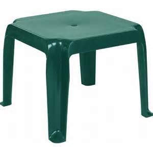 Plastic Side Table Siesta Sunray Plastic Side Table Green Isp240 Plasticfurniturechairs
