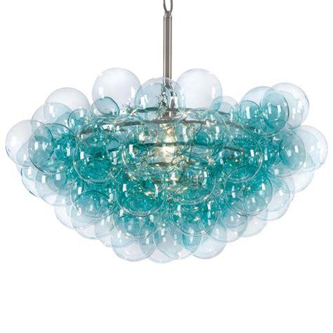 glass bubbles chandelier sima modern floating glass bubbles aqua chandelier kathy