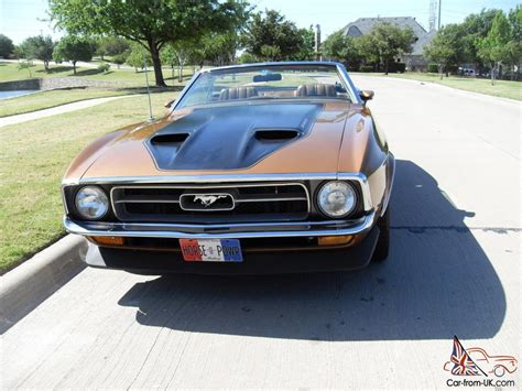 71 mustang convertible for sale 71 mustang convertible frank cone gt one of 3 produced