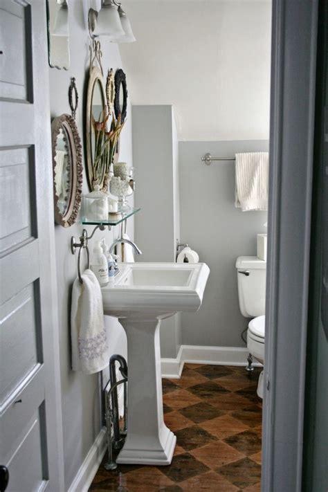 Apothecary Bathroom by Powder Room Sink Bathroom Traditional With Apothecary Jars Bathroom Storage Beeyoutifullife
