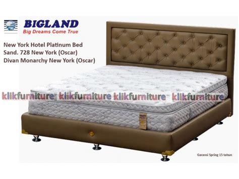 Kasur Bigland Platinum harga new york hotel platinum bed bigland sale 50