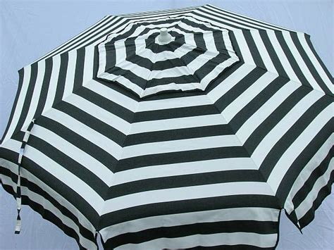 Black And White Striped Patio Umbrella Black And White Striped Patio Umbrella Black Striped Patio Umbrella Yes Black And White