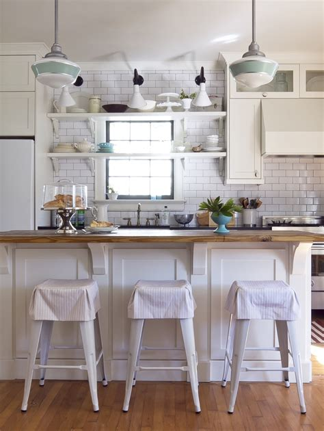 schoolhouse pendant lighting kitchen angle shades a risky rewarding choice for decatur kitchen