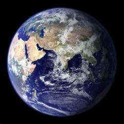 This is the classic blue marble photo of earth