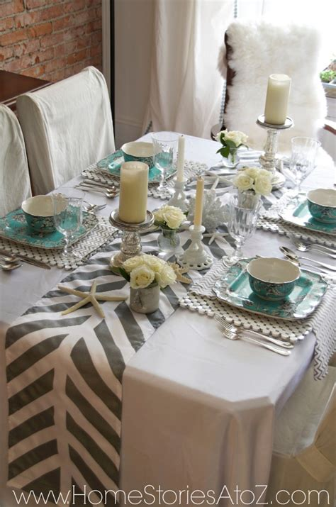 how to a table runner how to a painted table runner