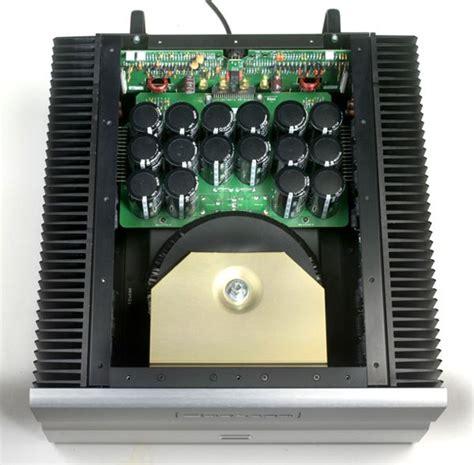 bryston bsst stereo amplifier top internal view