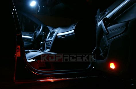 skoda octavia ii interior led dome light superskoda