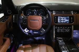 2015 supercharged range rover lwb car interior design