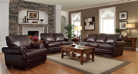 cheap living room suites coaster colton bonded leather stationary living room set