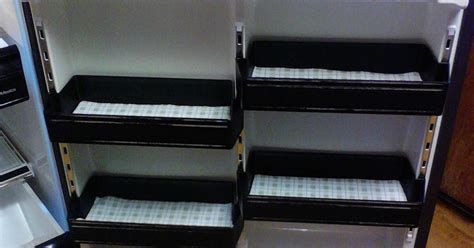 Refrigerator Shelf Liners by Diy Reusable Refrigerator Shelf Liner Hometalk