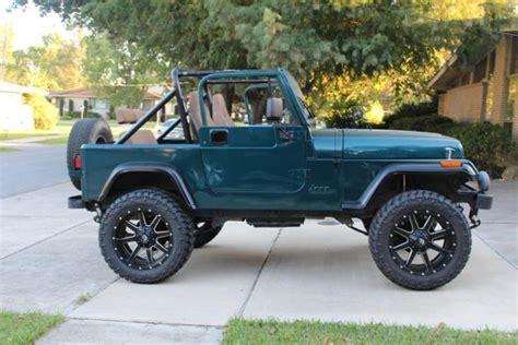 1989 jeep wrangler engine 1989 jeep wrangler v6 manual 20 quot fuel maverick rims 33