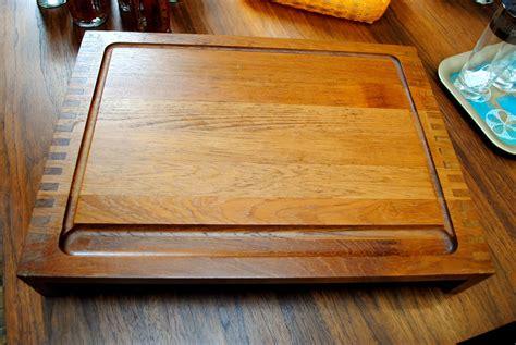 teak cutting board  nissen denmark circa