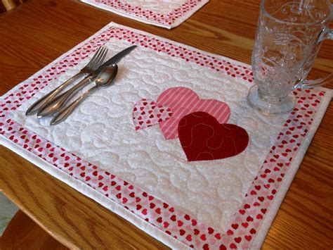 Quilting Placemats by Seasonal Placemats By Honeybunnyanddoll Quilting Pattern