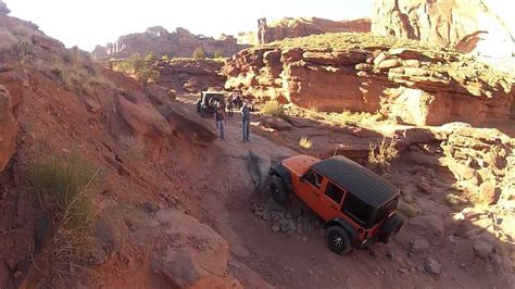 Jeeping In Moab Jeeping Cliffhanger Moab Utah
