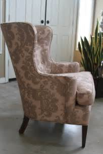 Wingback Chair Slipcover Pattern » Home Design