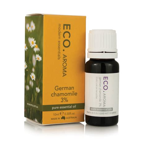German Dr Promoting Use Of Detox Foot Baths by Chamomile German Essential 3 10ml Eco Aroma