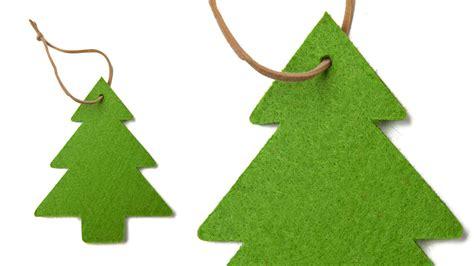 193 rbol de navidad de fieltro sencillo en decoraci 243 n