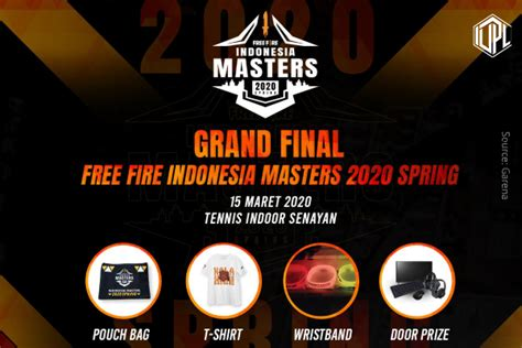 merchandise  grand final  fire indonesia masters
