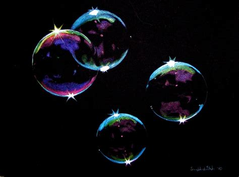 bubbles resolutions and search on pinterest colored pencil drawings on black paper google search