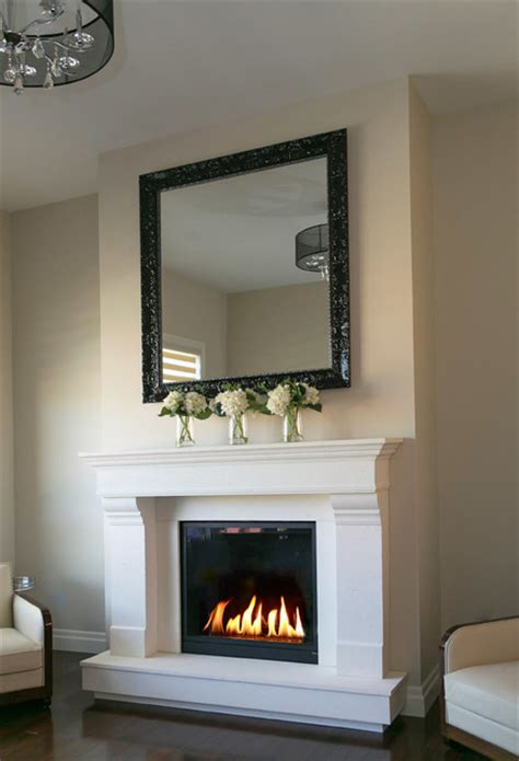 Houzz Fireplace Surrounds by Concrete Fireplace Surrounds Indoor