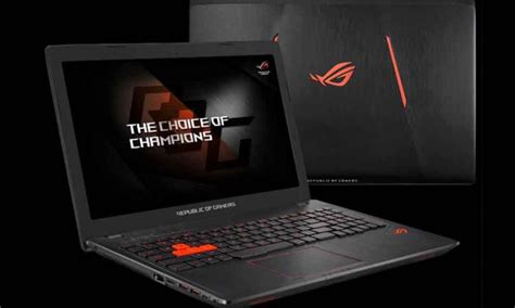 New Asus Rog Laptop Release Date asus releases new gaming laptop in the name asus rog strix gl553