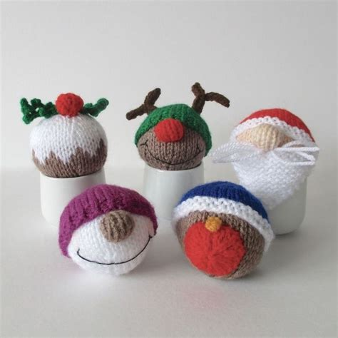 Handmade Baubles - 274 best images about knitted christmass on
