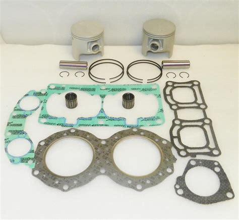 Piston Kawasaki 68mm Shark Pin 16 top end engine rebuild kit yamaha pwc 701 all 62t 010 827 10 187 95 parts reloaded