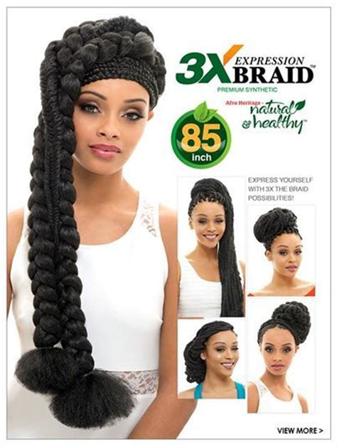 braids styles using 3x expression janet collection synthetic hair braid expression 3x braid