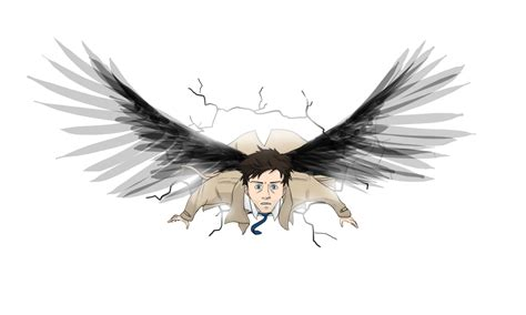 castiel supernatural by ansi chan on deviantart